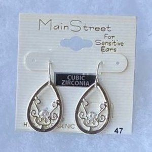 Main Street #47 Silver Filigree with CZ